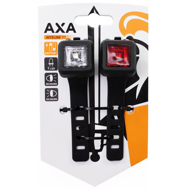 Axa verlichting set Niteline 11 batterij