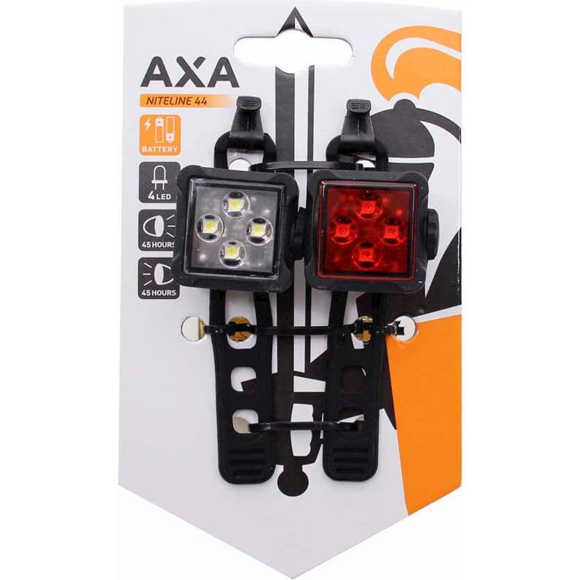 Axa verlichting set Niteline 44 batterij