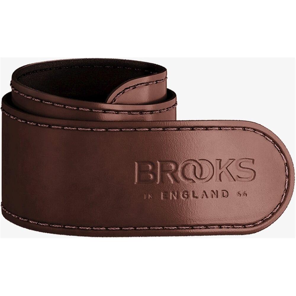 Brooks broekklem leer a brown