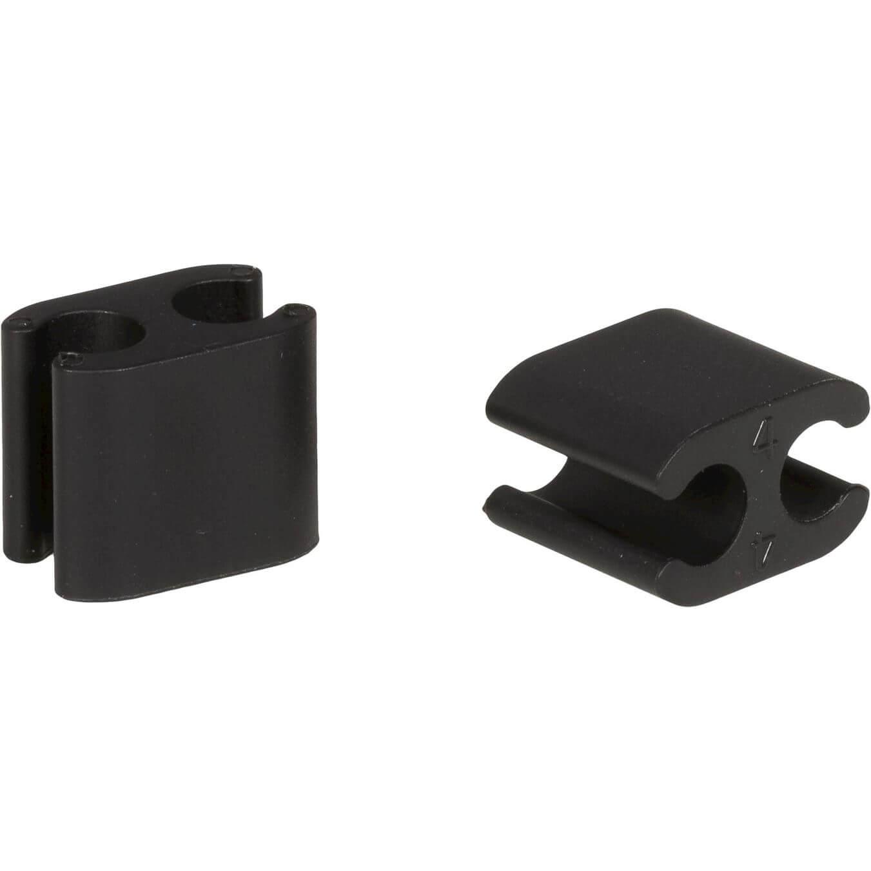 Elvedes kabelclip Duo 4,1 - 5mm doos (50)